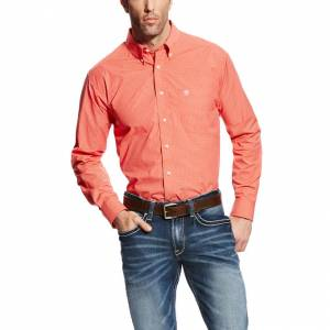 Ariat Felix Long Sleeve Performance - Mens - Azure Thistle
