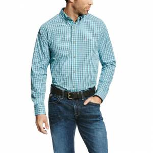 Ariat Eureka Long Sleeve Performance - Mens - Multi