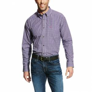 Ariat Elkhart Long Sleeve Performance - Mens - Multi