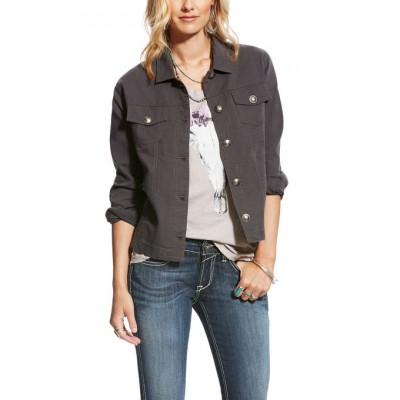 Ariat Julissa Jacket - Ladies - Grey Gray