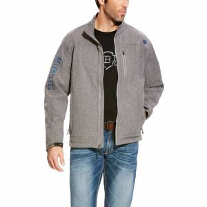 Ariat Rls Willpower Softshell Jacket - Mens - Grey