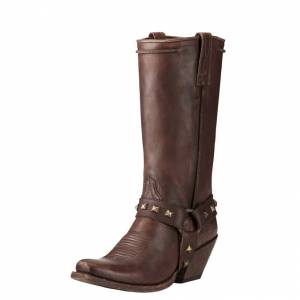 Ariat Rowan - Ladies - Harness Distressed Brown
