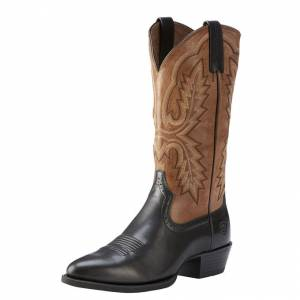 Ariat Heritage Calhoun - Mens - Limousin Black/Wood