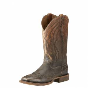 Ariat Far West - Mens - Naturally Distressed Brown