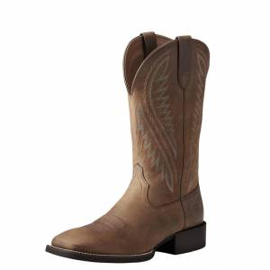 Ariat Sport Stonewall - Mens - Distressed Brown