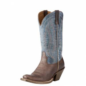 Ariat Circuit Salem - Ladies - Buckaroo Brown/Denim Blue