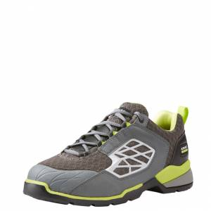 Ariat Rebar Giga Flex Composit Toe  - Mens - Grey/Green
