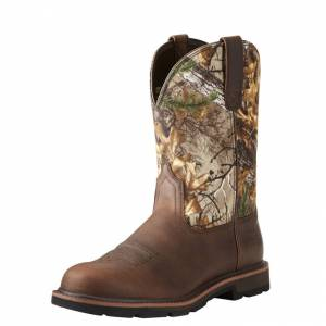 Ariat Groundbreaker Steel Toe -Brown/Realtree Xtra