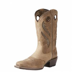 Ariat Venttek Ultra Narrow Toe - Mens -Antique Brown