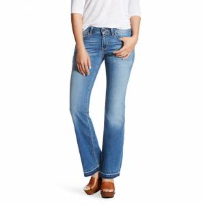 Ariat Ultra Stretch Cropped Straight - Ladies - Salt Water