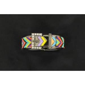 Chevron Buckle Bracelet