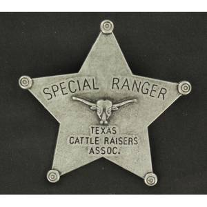 Texas Cattle Raisers Association Toy Badge