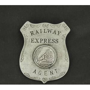 Railway Express Agent Toy Badge