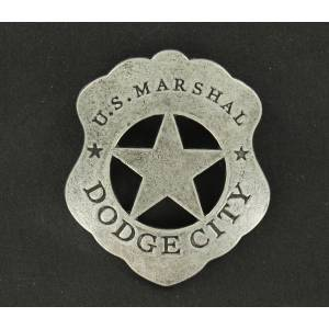 US Marshall Dodge City Toy Badge