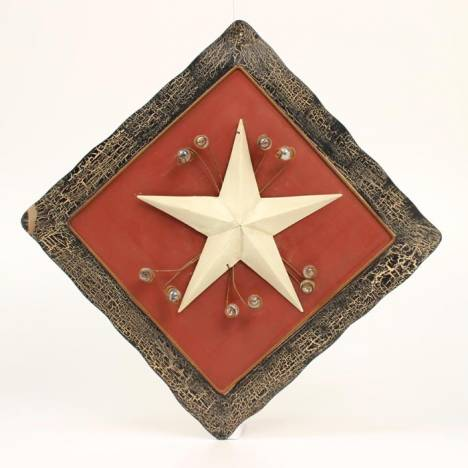 Star and Marble Design Metal Hanger