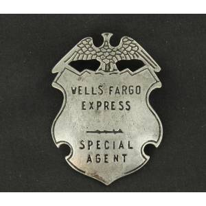 Wells Fargo Special Agent Toy Badge