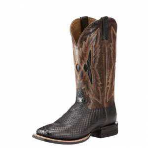 Ariat Relentless Top Notch - Mens - Black/Wildhorse Chocolate