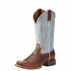 Ariat Relentless Advantage - Mens - Brown/Heritage Blue