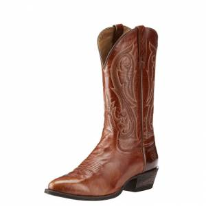 Ariat Circuit R Toe - Mens - Spruced Cognac