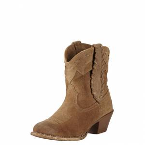 Ariat Round Up Rianda - Ladies - Relaxed Bark