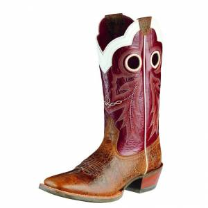 Ariat Wildstock - Mens - Adobe Clay/Red Light