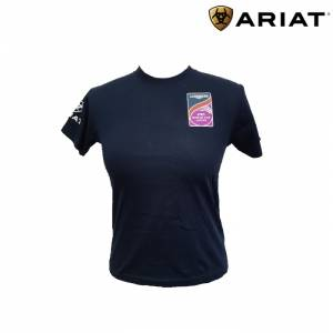 Ariat Kids Fei Graphic US Tour Crew Tee Shirt