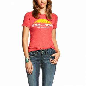 Ariat Ladies Wild In The West T-Shirt