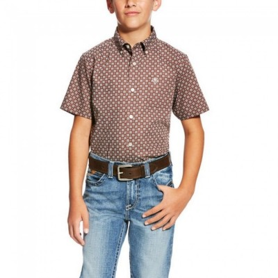 Ariat Boys Nixon Short Sleeve Shirt