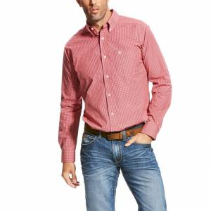 Ariat Pempton Performance Shirt - Mens - Calypso Coral