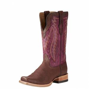 Ariat Relentless Prime - Mens - Brandy Bullhide/Light Violet