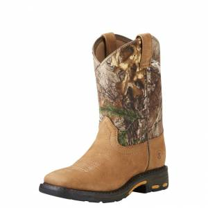 Ariat Workhog  - Kids - Age Bark/Real Tree Xtra