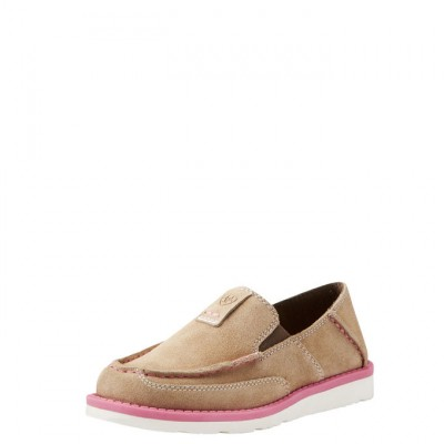 Ariat Kids Cruiser  - Dirty Taupe Suede