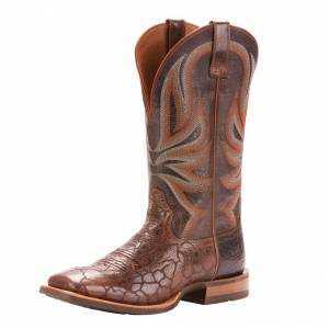 Ariat Range Boss - Men's - Wildhorse Chocolate/Gray