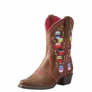 Ariat Desert Diva - Kid's - Distressed Brown