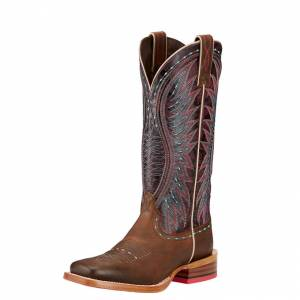 Ariat Vaquera - Ladies - Khaki/Sunset Purple