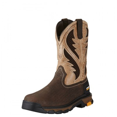 Ariat Intrepid Venttek - Mens - Bruin Brown/Stone