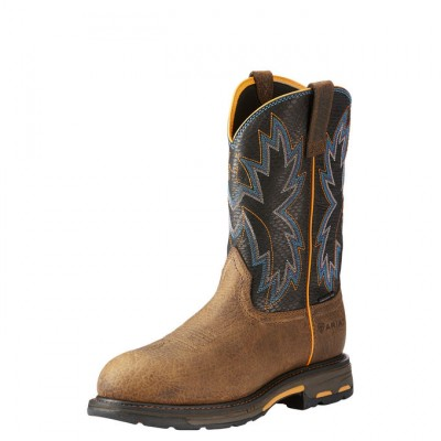 Ariat Workhog Raptor Composit Toe - Mens - Earth/Black