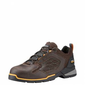 Ariat Rebar Flex Lo Composite Toe - Mens - Chocolate Brown