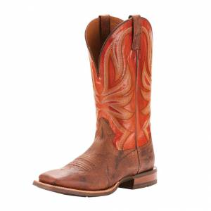 Ariat Range Boss - Mens - Trusty Brown/Apricot