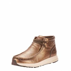 Ariat Spitfire Shoe - Ladies - Mettalic Bronze