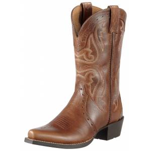 Ariat Kids Heritage X Toe Western Boot