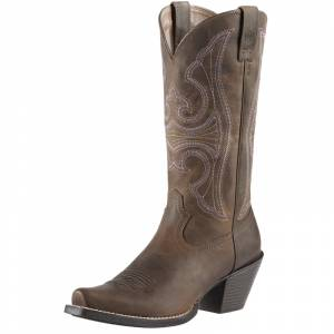 Ariat Ladies Round Up D-Toe Boots