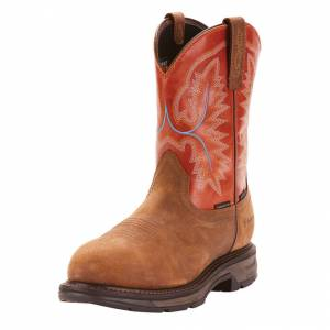 Ariat Mens Workhog XT Waterproof Work Boots