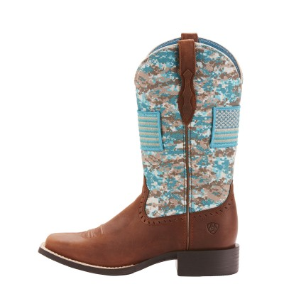 Ariat Ladies Round Up Patriot Foothill Boots