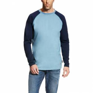 Ariat Mens Fire-Resistant Baseball Tee