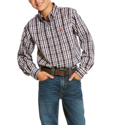 Ariat Kids Pro Series Caidwell Shirt