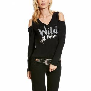 Ariat Ladies Wild Horses Tee