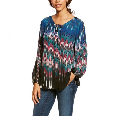 Ariat Ladies Norrie Tunic Multi Print