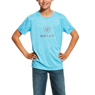 Ariat Kids Charger Logo Top