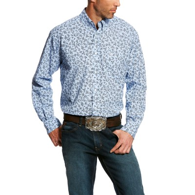 Ariat Mens Dawson Print Shirt